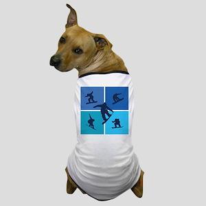 Nice various snowboarding Dog T-Shirt