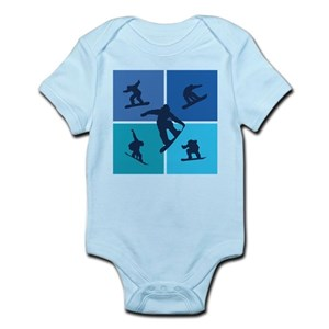 snowboarding baby clothes accessories cafepress