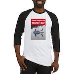 Santa world tour baseball jersey