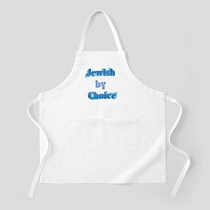 Jewish by choice BBQ Apron