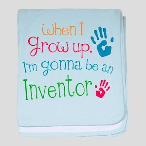Kids Future Inventor baby blanket