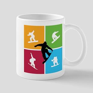 Nice various snowboarding Mug