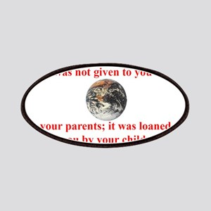 NATIVE AMERICAN PROVERB Patches
