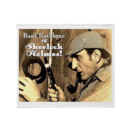 $59.99 Rathbone IS Holmes! Throw Blanket