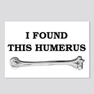 i found this humerus Postcards (Package of 8)