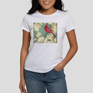 """MALE CARDINAL"" Women's T-Shirt"