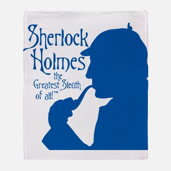 $59.99 Greatest Sleuth of All Throw Blanket