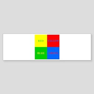 Four Square Sticker (Bumper)