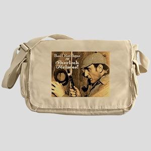 $34.99 Rathbone IS Sherlock! Messenger Bag