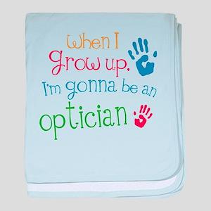 Kids Future Optician baby blanket
