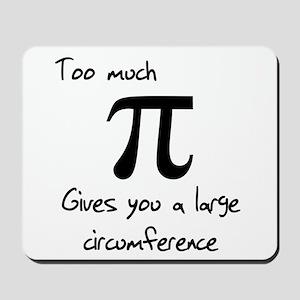 Pi Circumference Mousepad