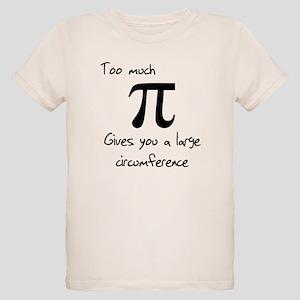 Pi Circumference Organic Kids T-Shirt