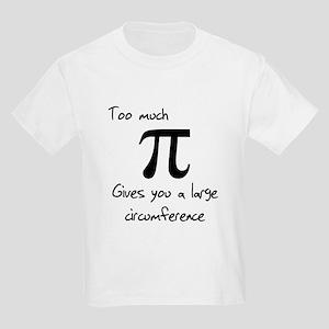 Pi Circumference Kids Light T-Shirt