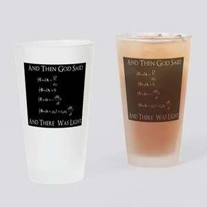 And God Said... Funny Drinking Glass
