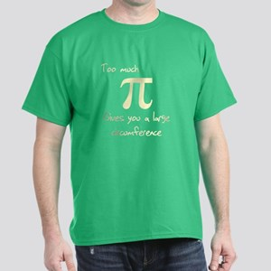 Pi Circumference Dark T-Shirt