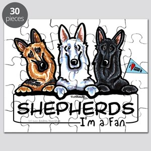 German Shepherd Fan Puzzle