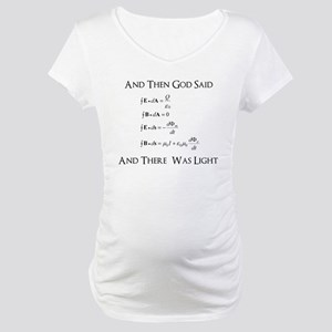 And God Said... Funny Maternity T-Shirt
