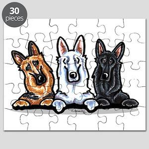 German Shepherd Trio Puzzle
