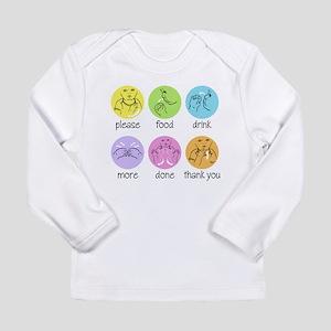 SIGN LANGUAGE Long Sleeve Infant T-Shirt
