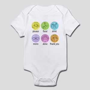 SIGN LANGUAGE Infant Bodysuit