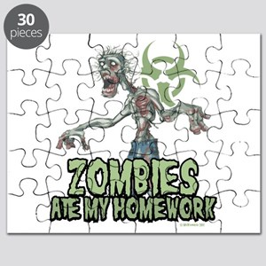 Zombies Ate My Homework Puzzle