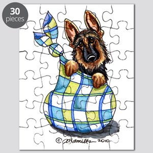 Baby German Shepherd Puzzle