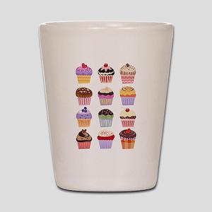 Dozen of Cupcakes Shot Glass