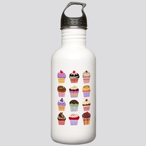 Dozen of Cupcakes Stainless Water Bottle 1.0L