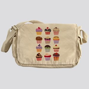 Dozen of Cupcakes Messenger Bag