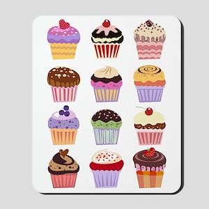 Dozen of Cupcakes Mousepad