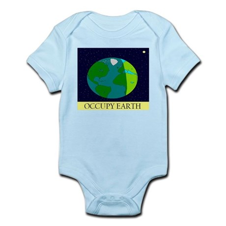 Occupy Earth Infant Bodysuit