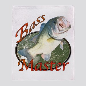 Bass master Throw Blanket
