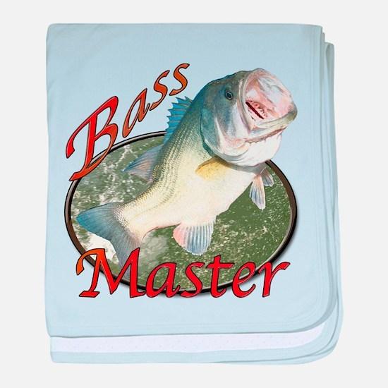 Bass master baby blanket