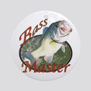 Bass master Ornament (Round)