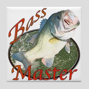 Bass master Tile Coaster