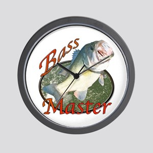 Bass master Wall Clock