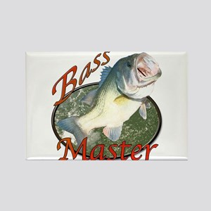 Bass master Rectangle Magnet