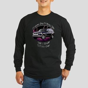 Ford Explorer Long Sleeve Dark T-Shirt