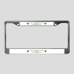 APES License Plate Frame
