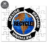 Recycle World Puzzle