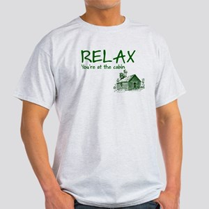 Relax Cabin Cottage Light T-Shirt