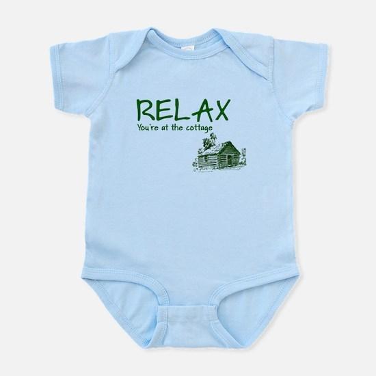 Relax Cabin Cottage Infant Bodysuit
