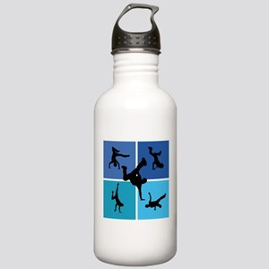 Nice various breakdancing Stainless Water Bottle 1