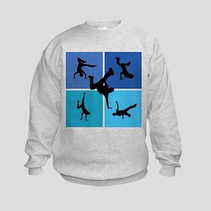 Nice various breakdancing Kids Sweatshirt