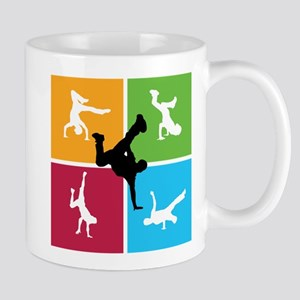 Nice various breakdancing Mug