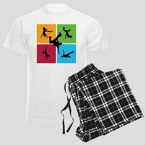 Nice various breakdancing Men's Light Pajamas
