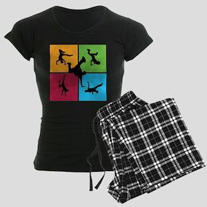 Nice various breakdancing Women's Dark Pajamas