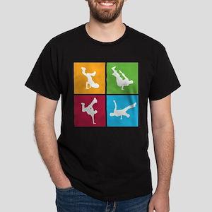 Nice various breakdancing Dark T-Shirt