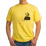 I love acting Yellow T-Shirt