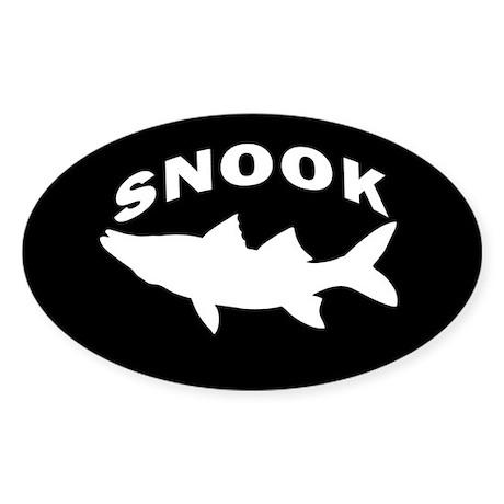 SIMPLY SNOOK Sticker (Oval)